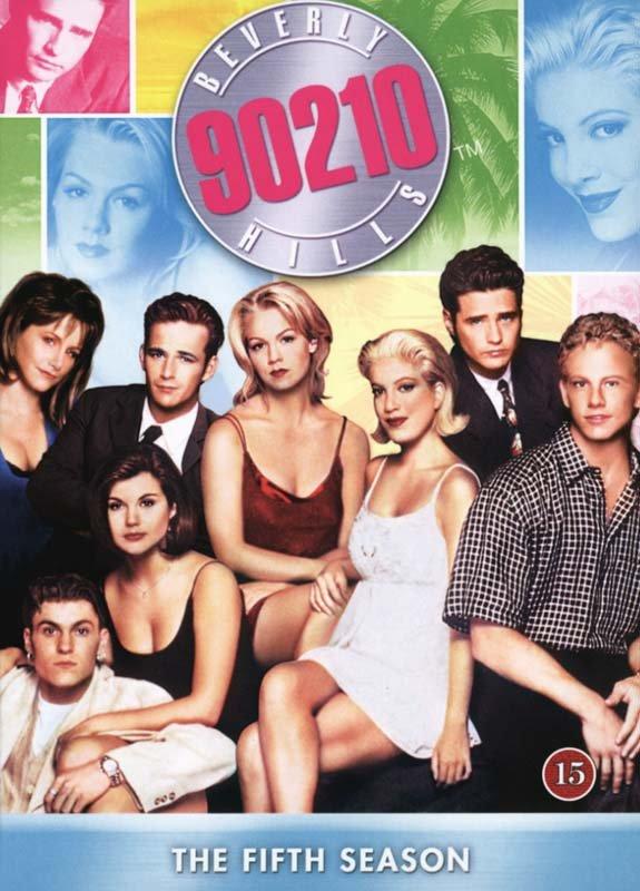 Image of   Beverly Hills 90210 - Sæson 5 - DVD - Tv-serie