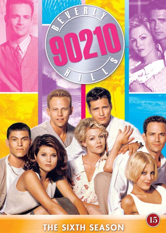 Image of   Beverly Hills 90210 - Sæson 6 - DVD - Tv-serie