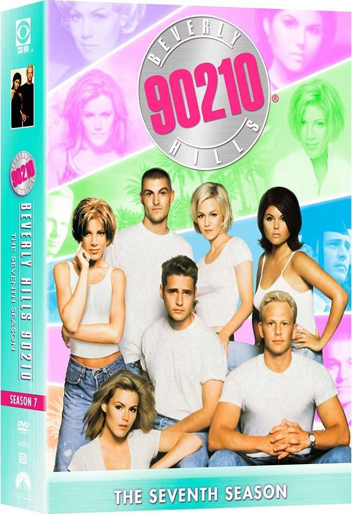 Image of   Beverly Hills 90210 - Sæson 7 - DVD - Tv-serie