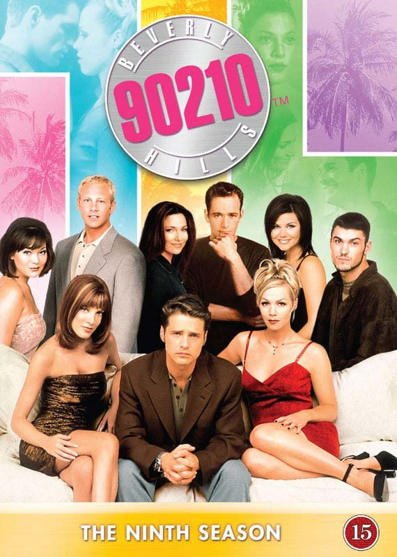 Image of   Beverly Hills 90210 - Sæson 9 - DVD - Tv-serie