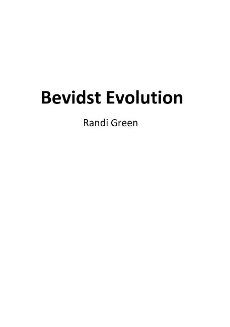 Image of   Bevidst Evolution - Randi Green - Bog