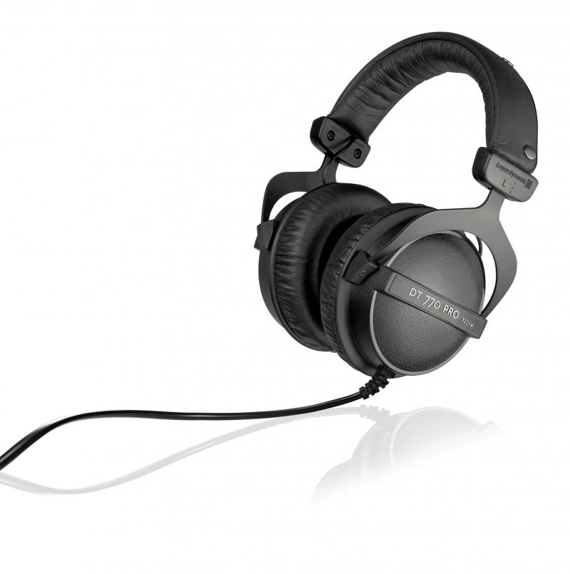 Image of   Beyerdynamic Dt 770 Pro - Over-ear Hovedtelefoner - 32 Ohm - Sort