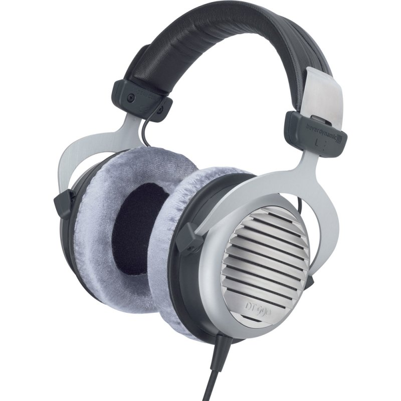 Billede af Beyerdynamic Dt 990 Høretelefoner / Hovedtelefoner 600 Ohms - Grå Og Sort
