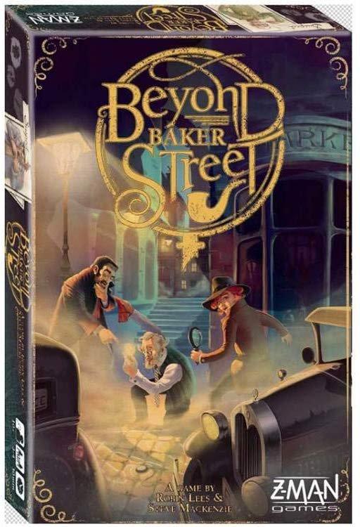 Beyond Baker Street - Brætspil På Engelsk