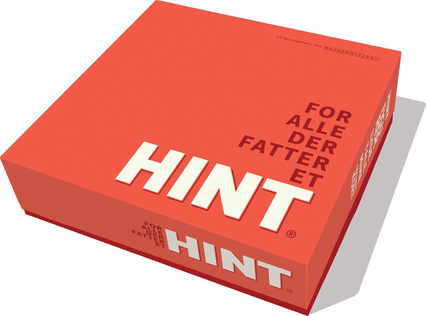 Hint - Rød - Brætspil