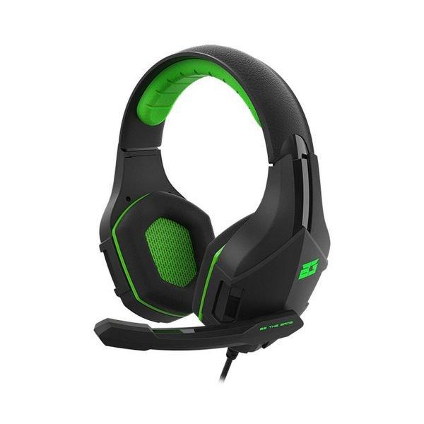 Billede af Bg Vicker Gaming Høretelefoner Med Mikrofon - Sort Grøn