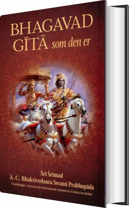 Image of   Bhagavad Gita Som Den Er - A.c. Bhaktivedanta Swami Prabhupada - Bog