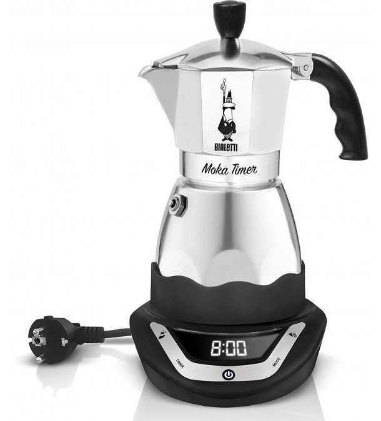 Image of   Bialetti Moka Timer - Espressokande - 3 Kopper