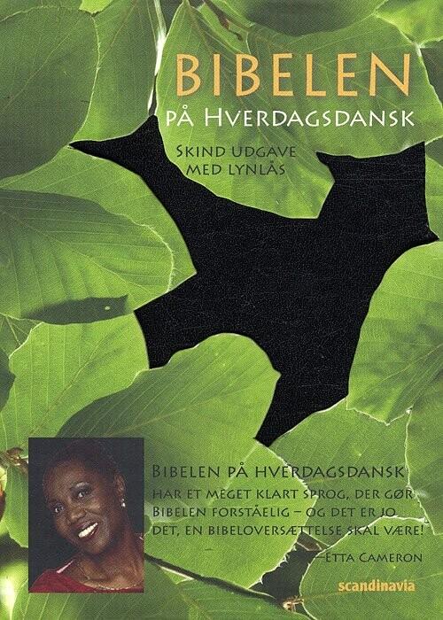 Image of   Bibelen På Hverdagsdansk, Lomme, Sort Skind M/ Lynlås - Iver Larsen - Bog