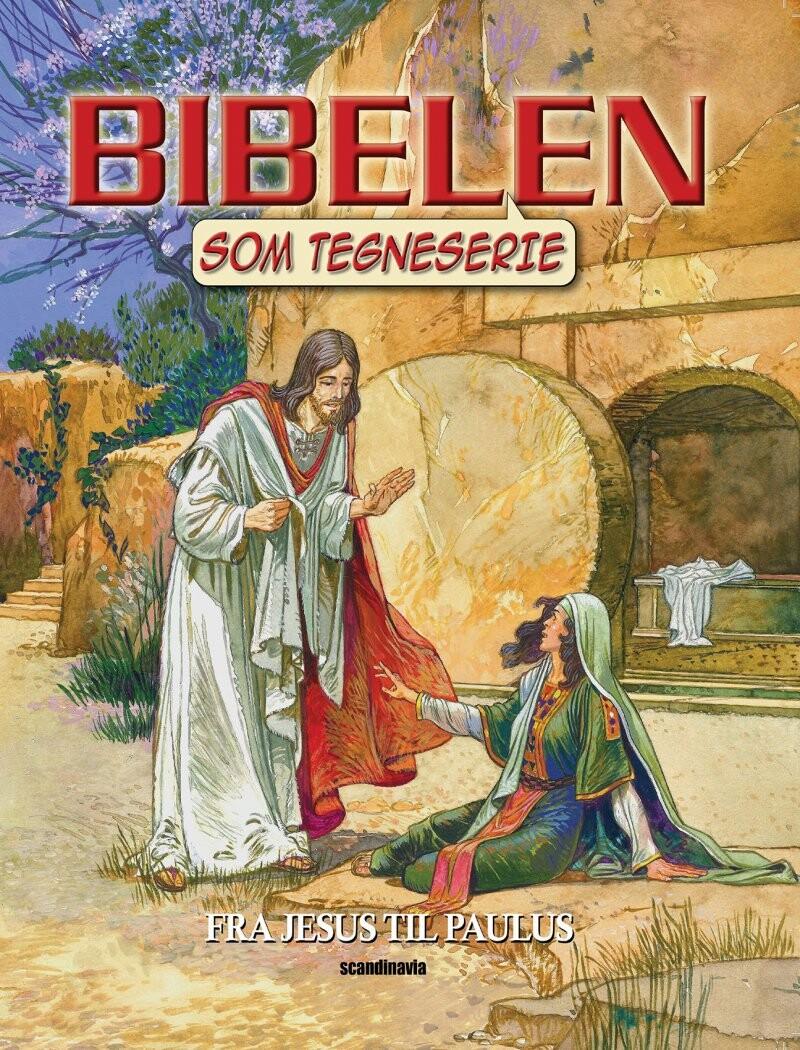 Image of   Bibelen Som Tegneserie, Nt Vol 3 Soft - Ben Alex - Bog