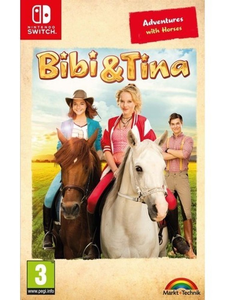 bibi  tina adventures with horses nintendo switch → køb