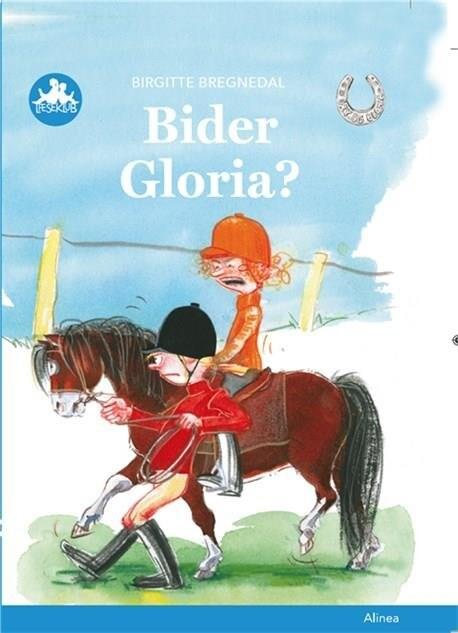 Billede af Bider Gloria? Blå Læseklub - Birgitte Bregnedal - Bog