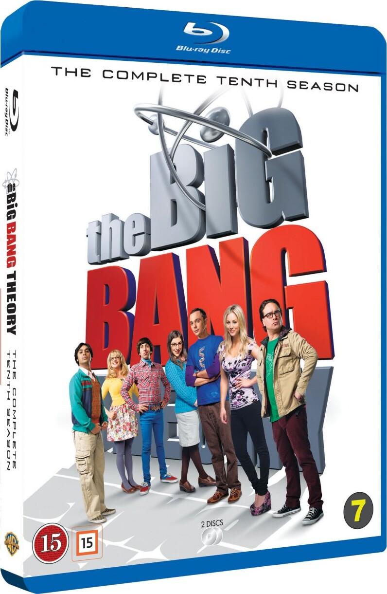 Image of   The Big Bang Theory - Sæson 10 - Blu-Ray - Tv-serie