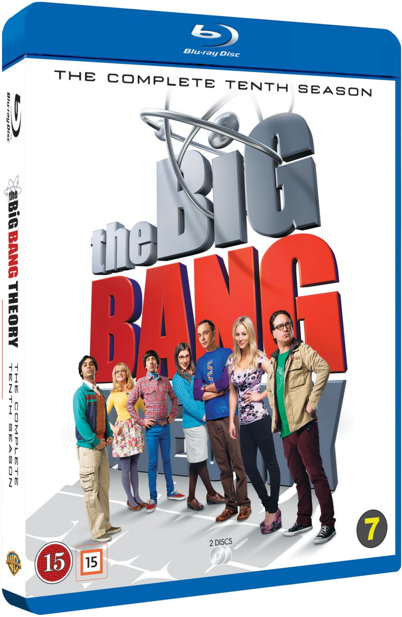 Image of   The Big Bang Theory - Sæson 10 - Blu-Ray - Tv-serie