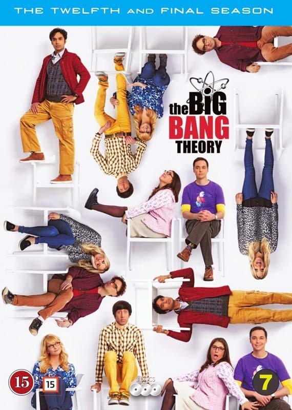 Billede af The Big Bang Theory - Sæson 12 - DVD - Tv-serie