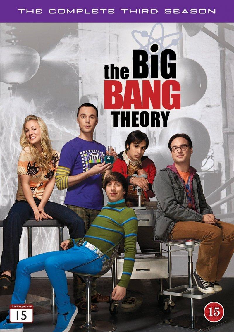 Image of   Big Bang Theory - Sæson 3 - DVD - Tv-serie