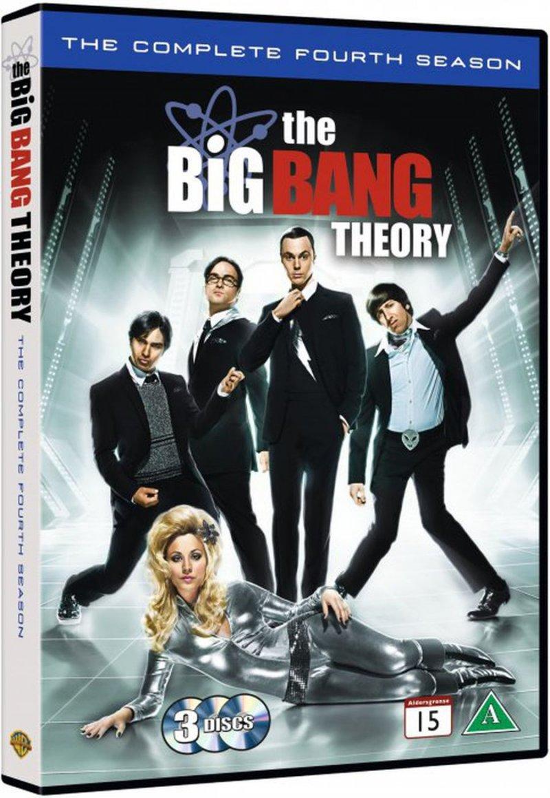 Image of   Big Bang Theory - Sæson 4 - DVD - Tv-serie