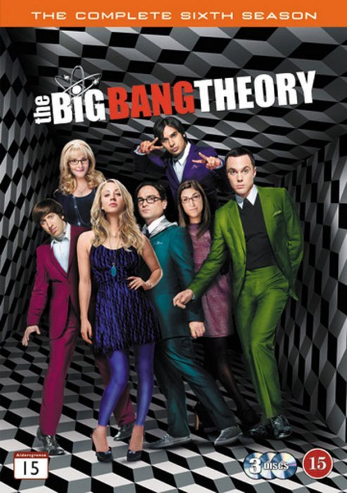 Image of   Big Bang Theory Sæson 6 - DVD - Tv-serie