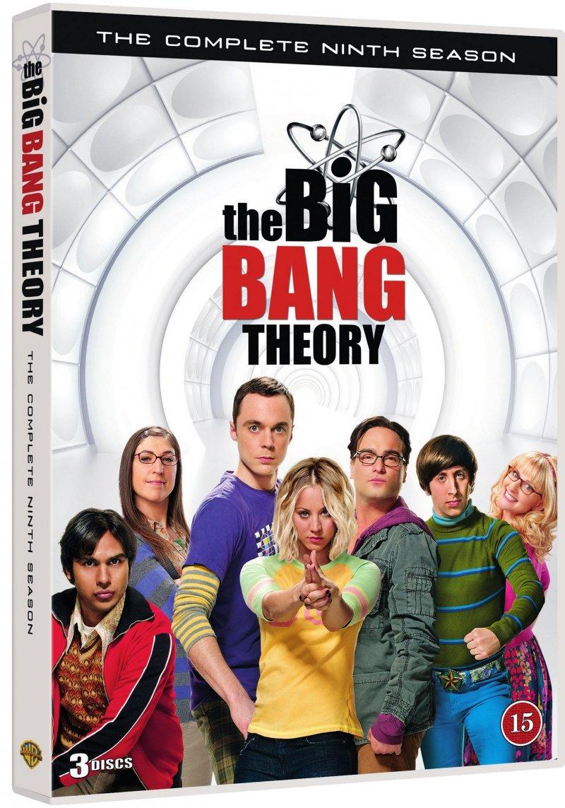 Image of   Big Bang Theory - Sæson 9 - DVD - Tv-serie