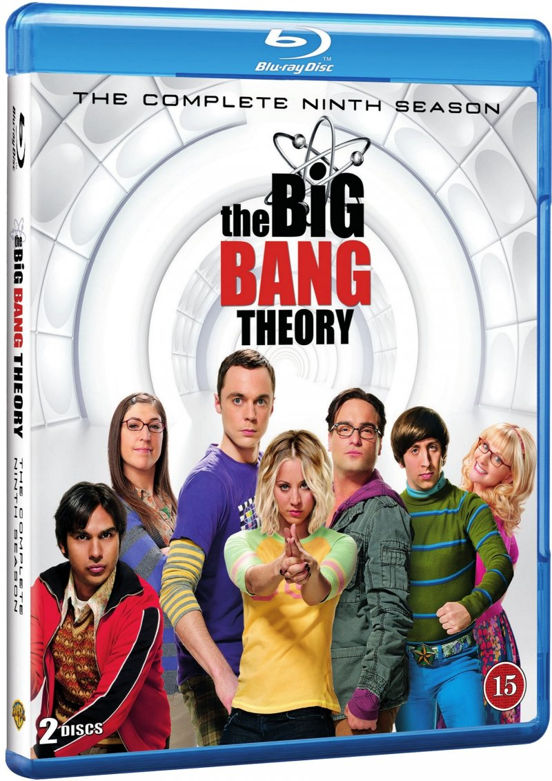 Image of   Big Bang Theory - Sæson 9 - Blu-Ray - Tv-serie