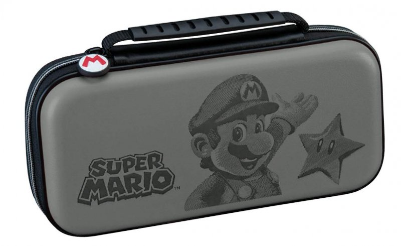 Image of   Nintendo Switch Case - Grå Mario