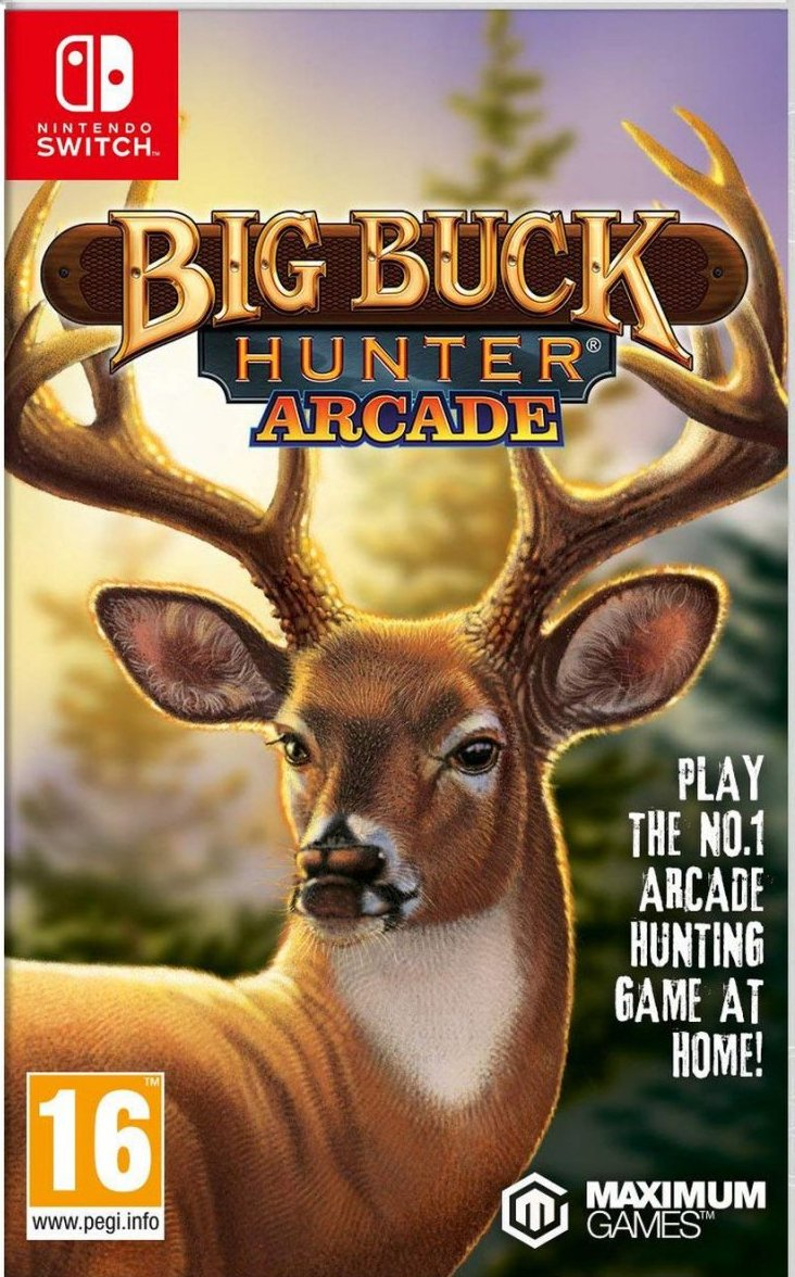 Image of   Big Buck Hunter Arcade - Nintendo Switch