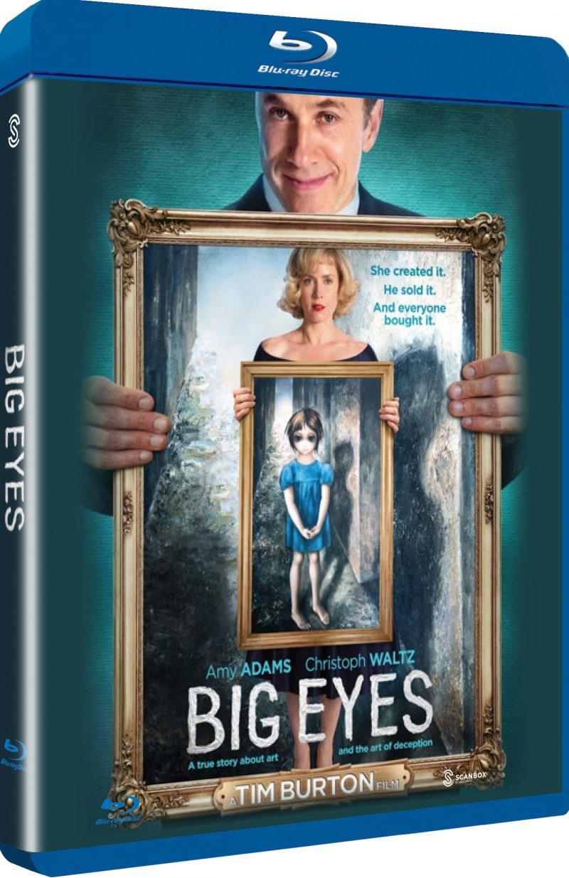 Image of   Big Eyes - Blu-Ray