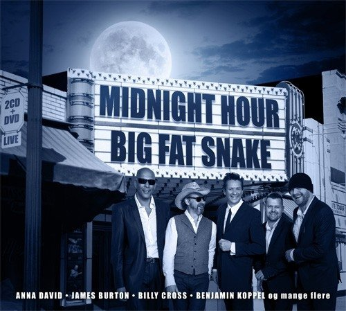Image of   Big Fat Snake - Midnight Hour - Live (2cd+dvd) - CD
