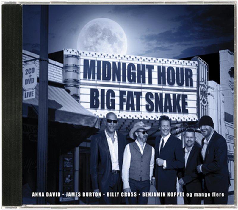 Image of   Big Fat Snake - Big Fat Snake - Midnight Hour Live - (cd + Dvd) - CD