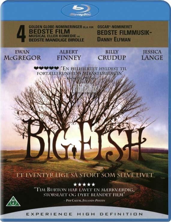 Image of   Big Fish - Blu-Ray