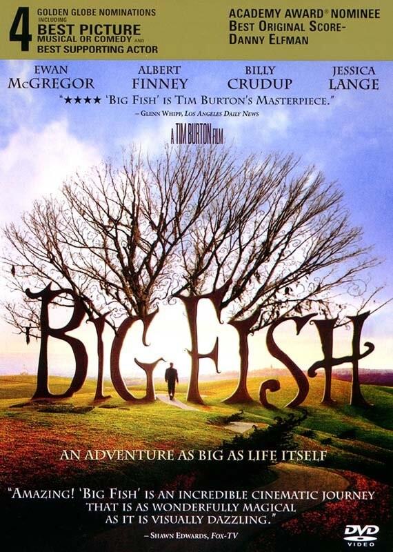 Billede af Big Fish - DVD - Film
