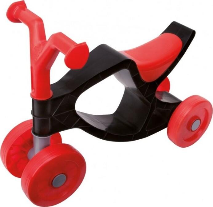 Billede af Big - Løbecykel Med 4 Hjul - Flippi - Sort Rød