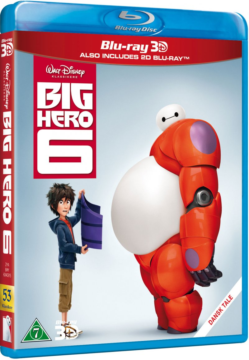 Image of   Big Hero 6 - Disney - 3D Blu-Ray