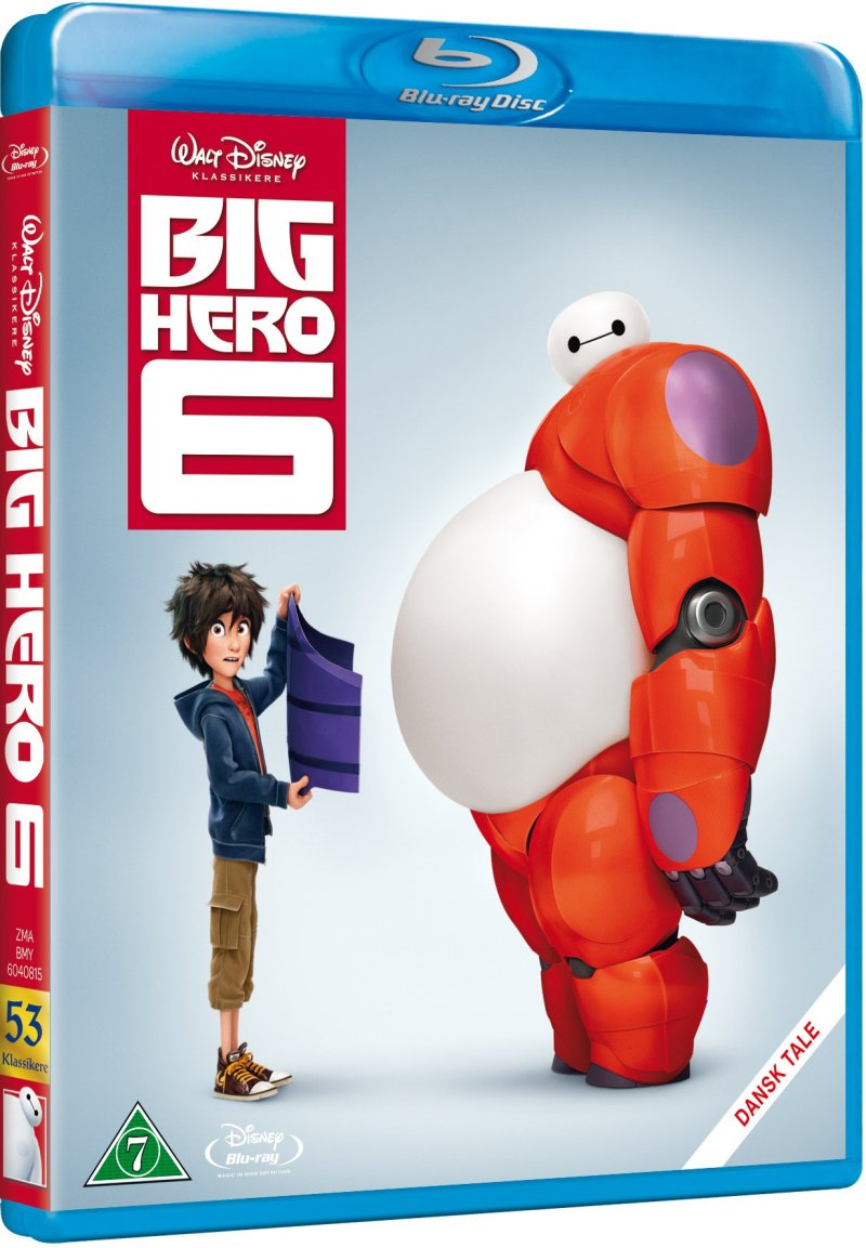 Image of   Big Hero 6 - Disney - Blu-Ray