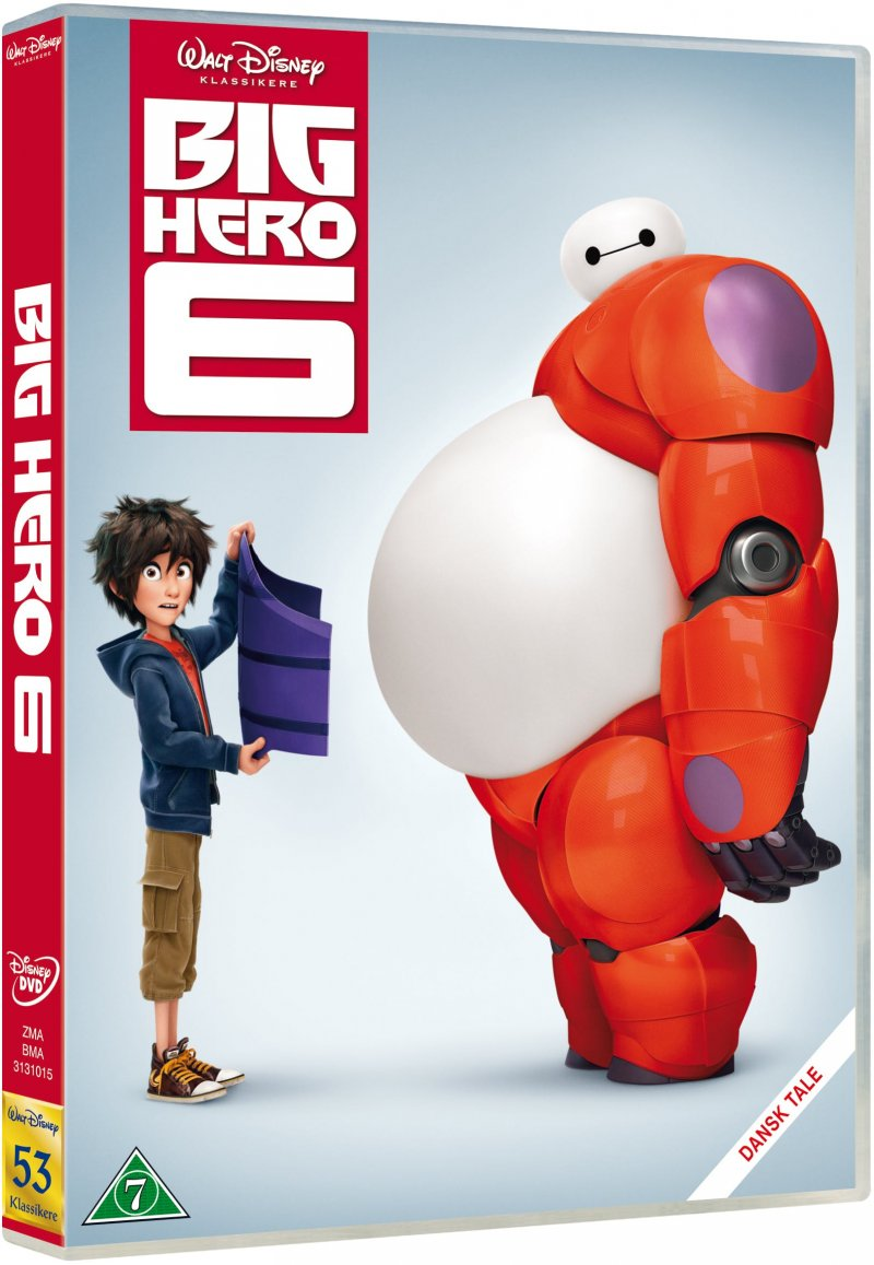 Billede af Big Hero 6 - Disney - DVD - Film