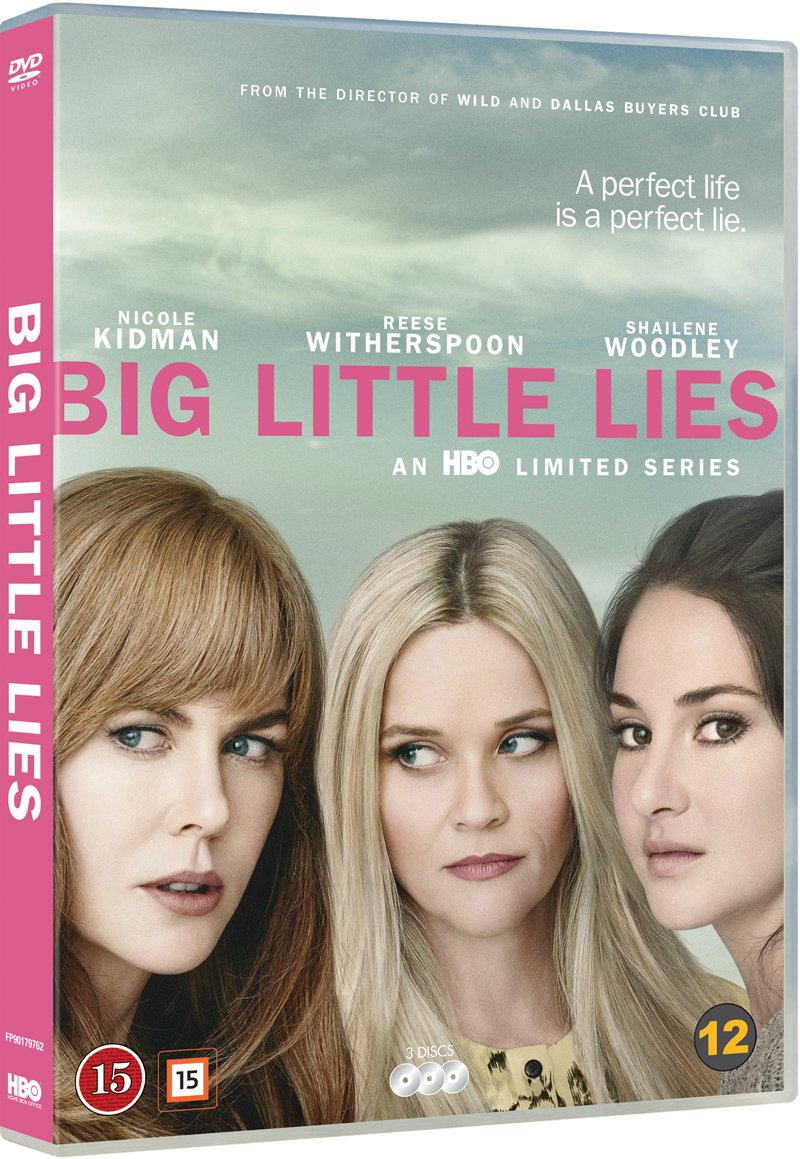 Image of   Big Little Lies - Sæson 1 - Hbo - DVD - Tv-serie