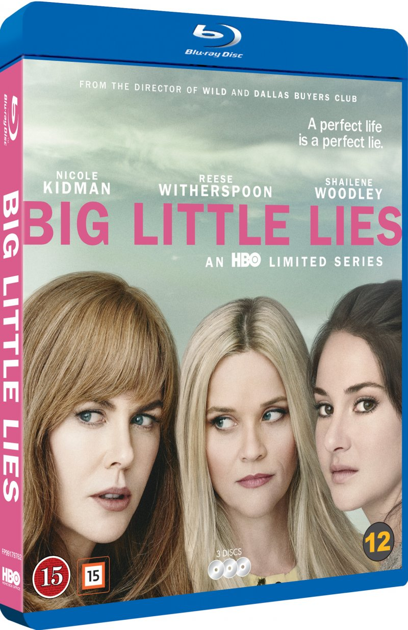 Image of   Big Little Lies - Sæson 1 - Hbo - Blu-Ray - Tv-serie