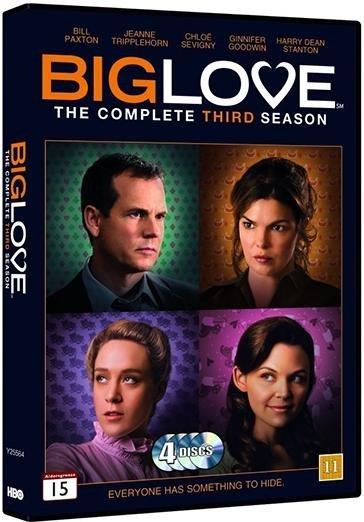 Image of   Big Love - Sæson - DVD - Tv-serie