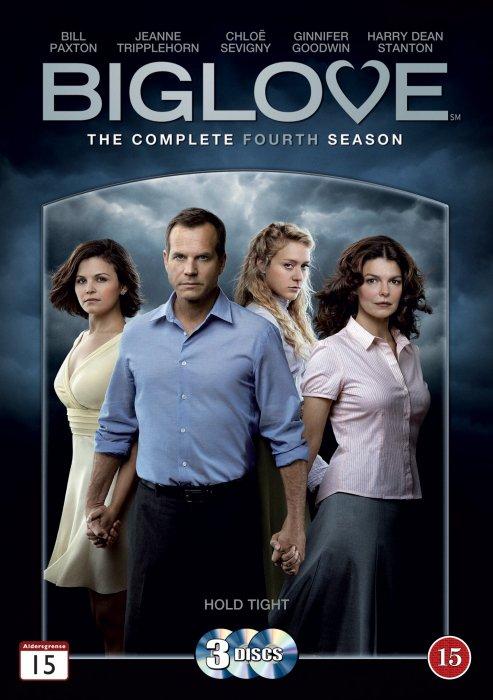 Image of   Big Love - Sæson 4 - DVD - Tv-serie