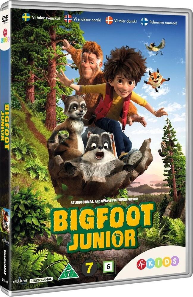 Image of   Bigfoot Junior - DVD - Film