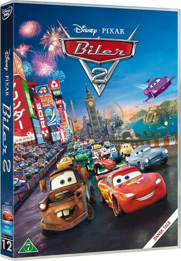 Billede af Cars 2 / Biler 2 - Disney Pixar - DVD - Film