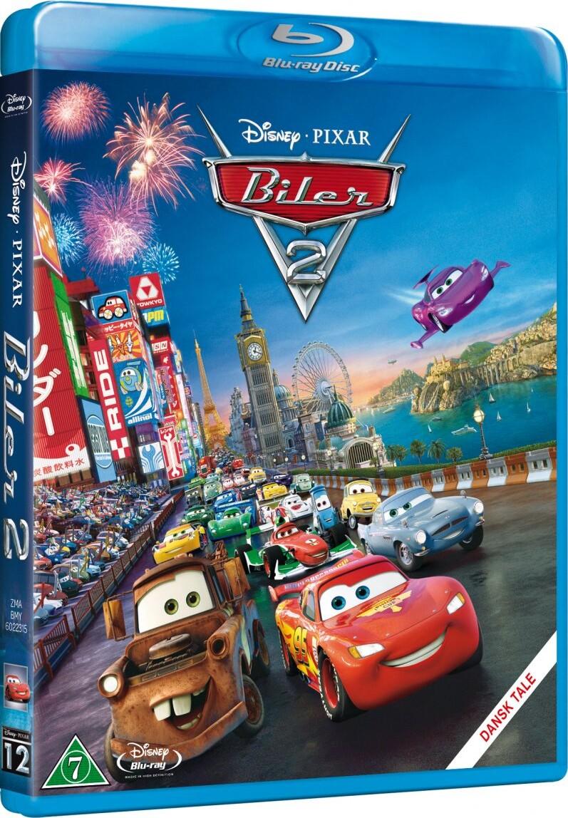 Image of   Biler 2 / Cars 2 - Steel Book - Disney Pixar - Blu-Ray