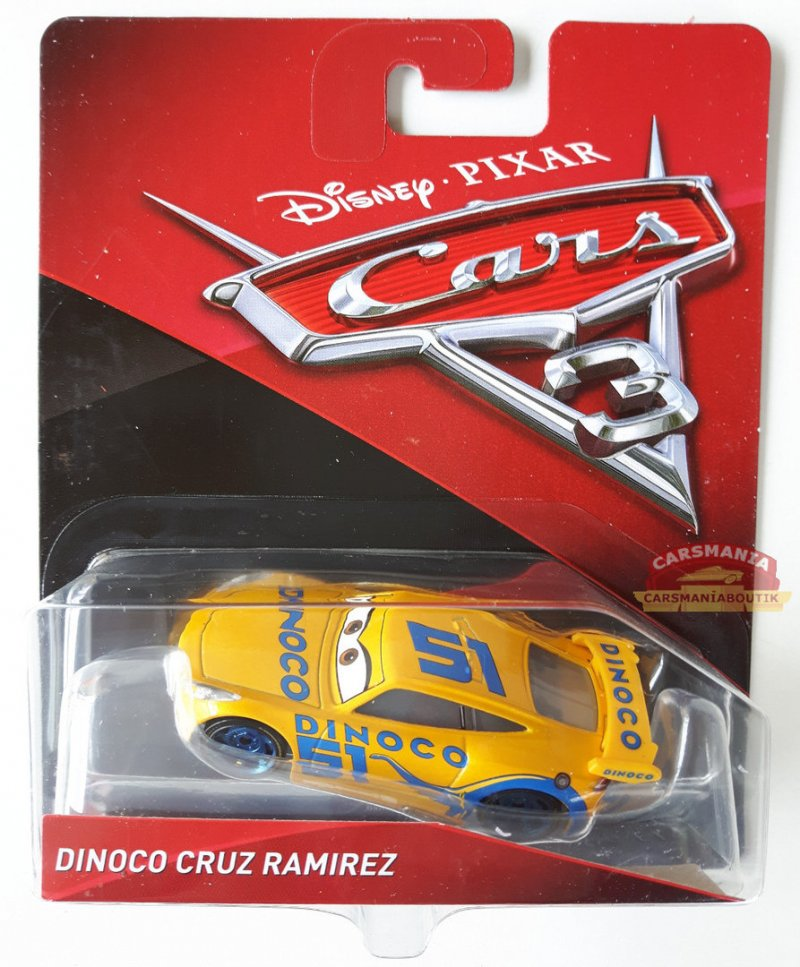 Cruz Ramirez Bil - Cars 3