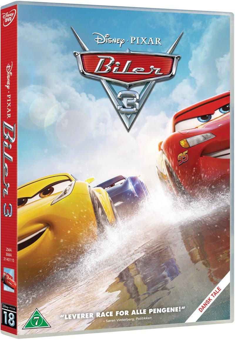 Billede af Cars 3 / Biler 3 - Disney Pixar - DVD - Film