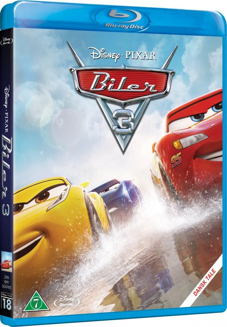 Image of   Cars 3 / Biler 3 - Disney Pixar - Blu-Ray