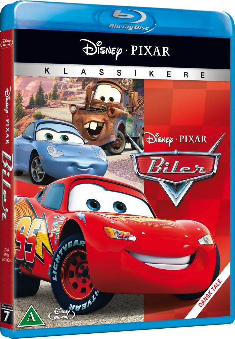 Image of   Disney Biler / Cars - Disney Pixar - Blu-Ray