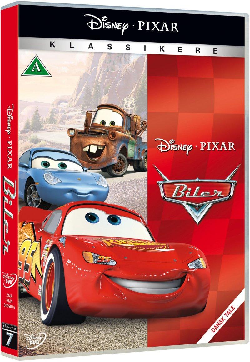 Billede af Biler / Cars - Disney Pixar - DVD - Film