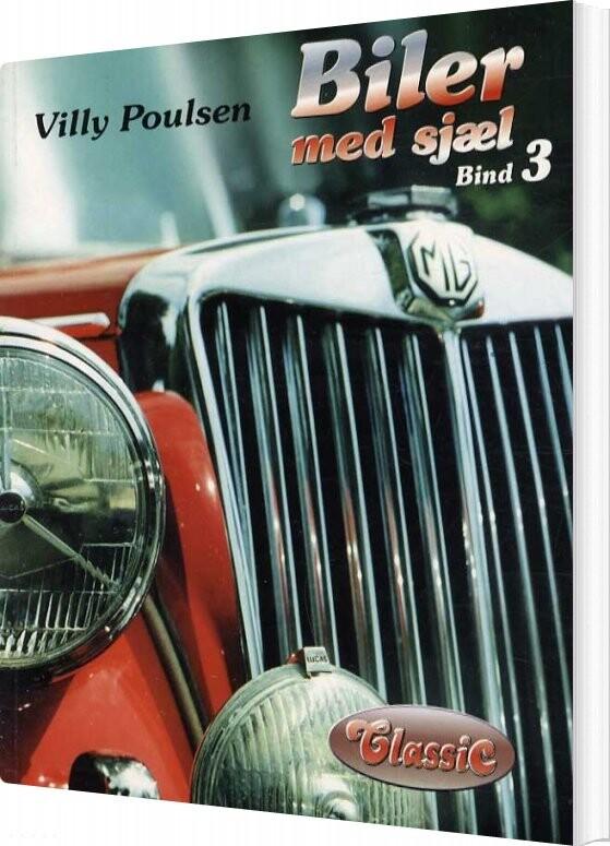 Image of   Biler Med Sjæl - Bind 3 - Villy Poulsen - Bog
