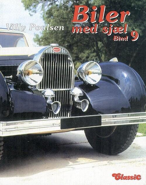 Biler Med Sjæl - Bind 9 - Villy Poulsen - Bog