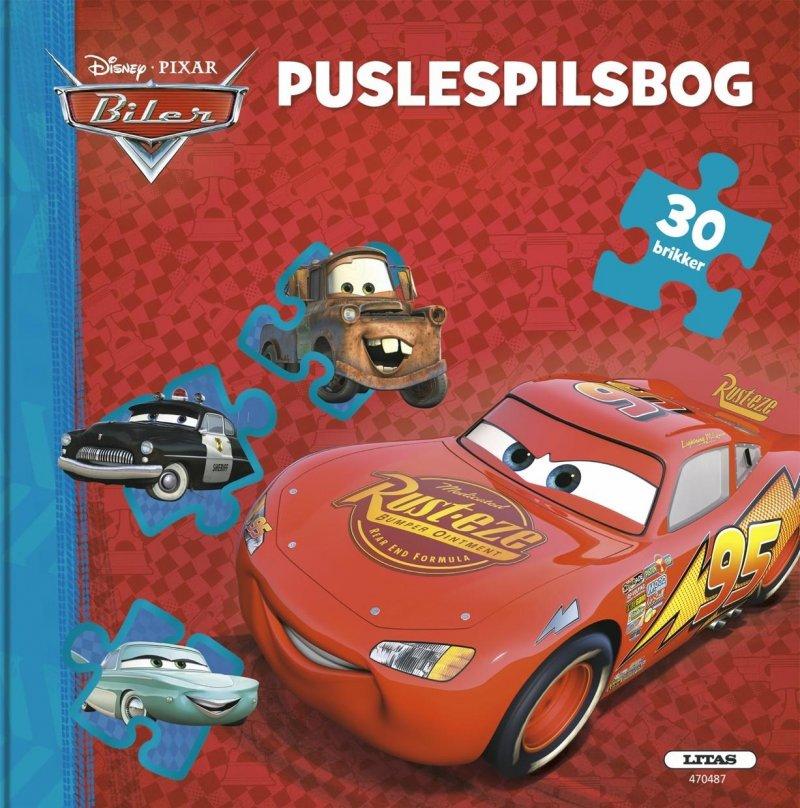 Disney Cars Puslespilsbog